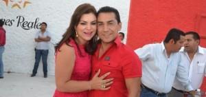 Former Iguala Mayor José Luis Abarca Velásquez, and his wife, María de los Ángeles Pineda Villa. Photo: Economía Hoy.