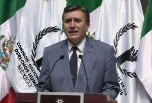 CNDH's new president, Luis Raúl González Pérez. Photo: Milenio.