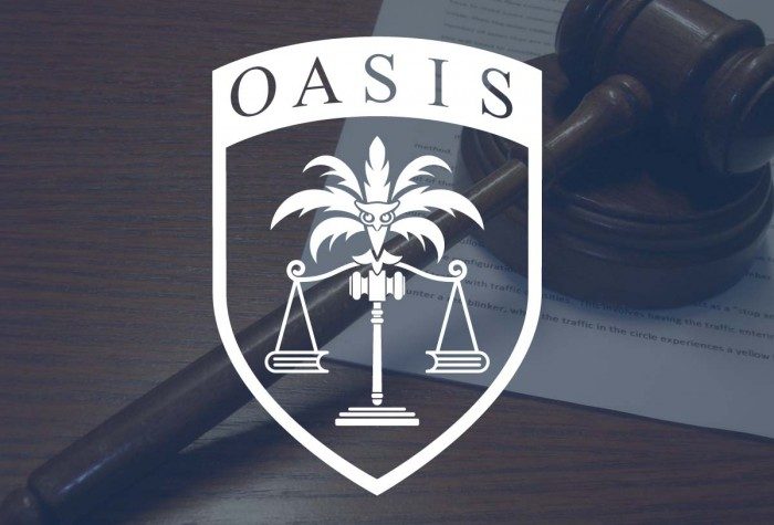 Oasis webpage is now live