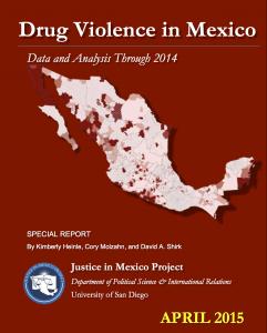 2015 Drug Violence in Mexico-Portada