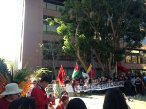 Caravana 43 in San Diego, CA on March 23. Photo: Carmelita Salazar-Dodge, Justice in Mexico
