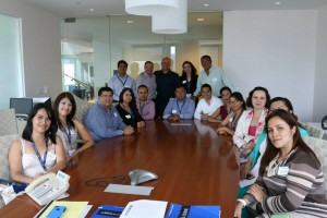 OASIS San Diego participants meet with Anthony Da Silva