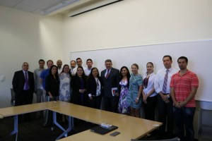 OASIS DC participants with Mexican Ambassador to the OAS Emilio Rabasa