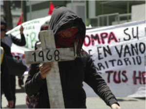 Over 50,000 people united in protest over the disappeared in Tlatelolco and Ayotzinapa