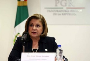 Arely Gómez, the Attorney General of Mexico. Source:  El Universal