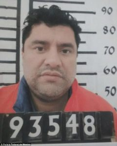 "March 16, 2017. Mexican authorities report the son of Sinaloa Cartel leader ""El Azul"" escaped with four other cartel members from a Culiacán prison. Source: Daily Mail"
