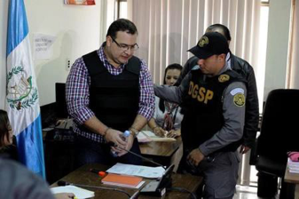 Javier Duarte, under custody of Guatemalan authorities, is awaiting formal extradition to Mexico. Source: Prensa Libre