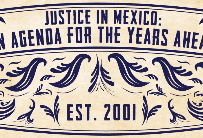 Justice in Mexico: An Agenda for the Years Ahead at USD