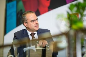 Juan Pardinas,President of the Mexico Institute for Competitiveness-Credit: Brett Gundlock, Bloomberg