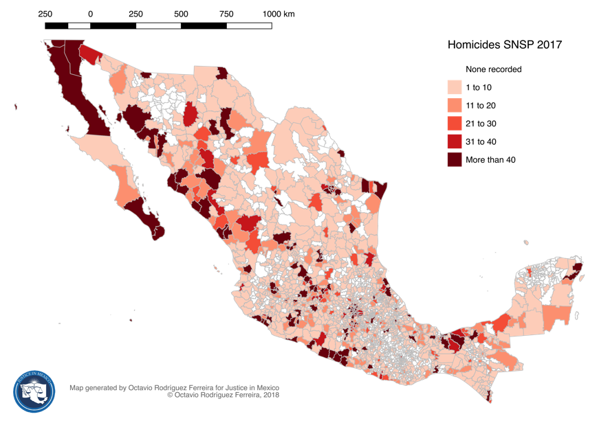 2018 Drug Violence in Mexico Report - Justice in Mexico