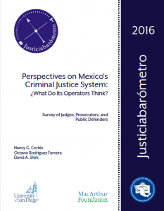 Justice in Mexico report
