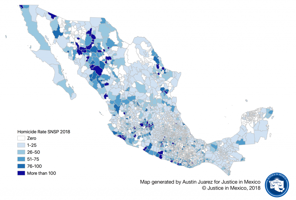 2019 Organized Crime and Violence in Mexico - Justice in Mexico