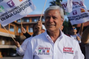 Jaime Bonilla Valdez, governor elect of Baja California
