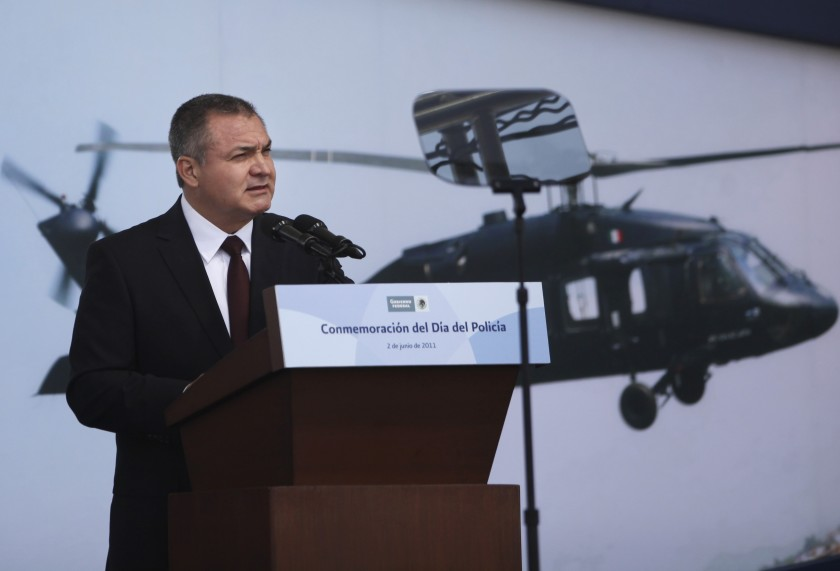 Former Secretary of Public Security giving a speech during his tenure. Photo: The Associated Press, Alexandre Meneghini.
