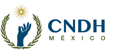 Logo for Mexico's National Human Rights Commission